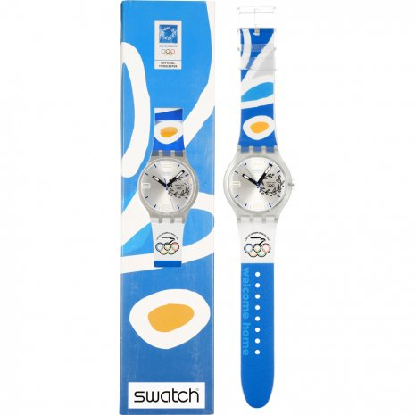 Swatch NOC Athens 2004 Mexico watch