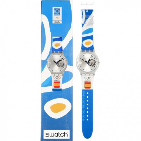 Swatch NOC Athens 2004 Spain watch