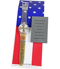 GZ150AJDISPLAY Olympic Team Usa Display with Athletes Watch 33.9mm