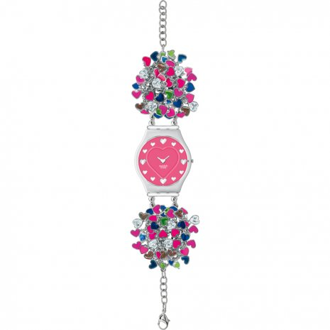 Swatch Over Charm by Manish Arora watch