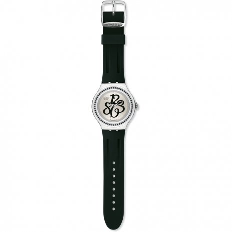 Swatch Pearly Gloss Black watch