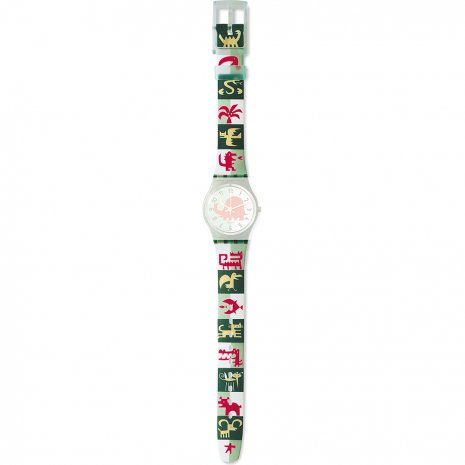 Swatch LG115 Pictos Strap