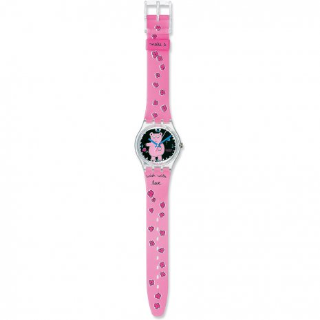 Swatch Piggy The Bear watch