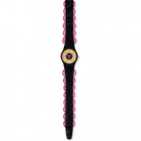 Swatch Pink Corset watch