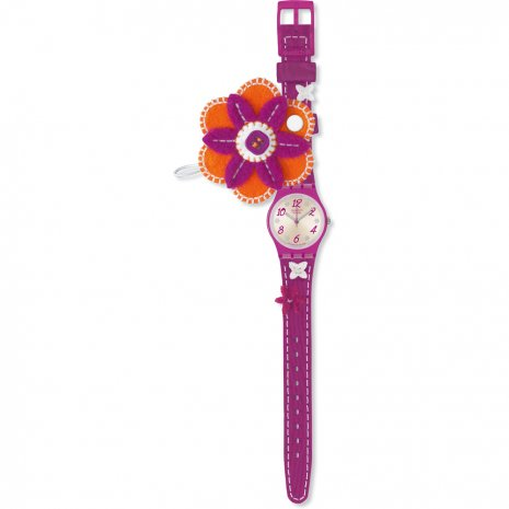 Swatch Pink Flowers watch