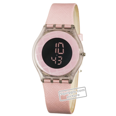 watch Fume Grey Quartz Digital