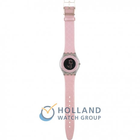 Swatch Pink Glace watch