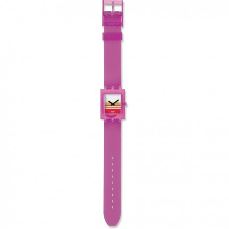 Swatch Pink Miami watch