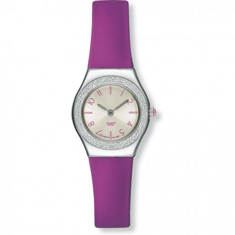 Swatch Purple Appetizer watch