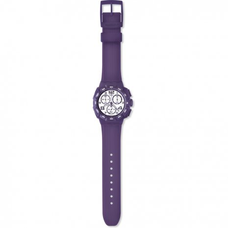 Swatch Purple Funk watch
