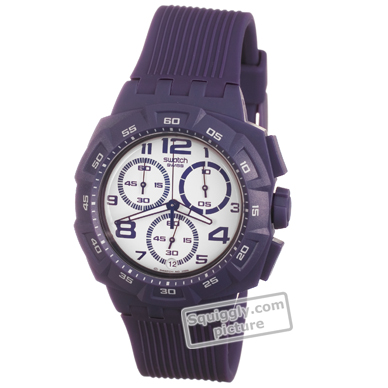 watch Purple Quartz Chronograph