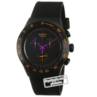 watch black Quartz Chronograph