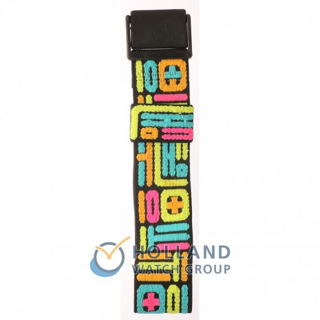Swatch PWBB117 Fluo Mex Strap