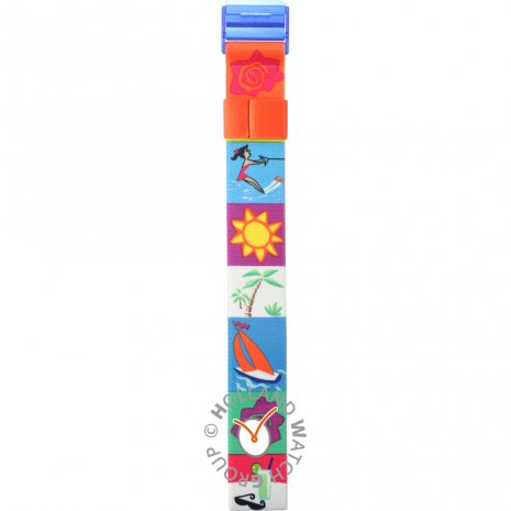 Swatch PWK195 Beach Cafe Strap