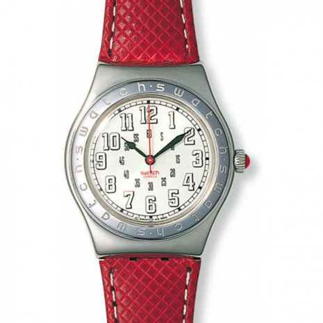 Swatch Red Amazon watch