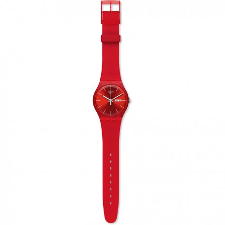 Swatch Red Rebel watch