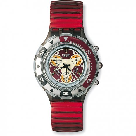 Swatch Red Snapper watch