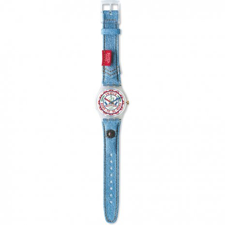 Swatch Red Tag watch