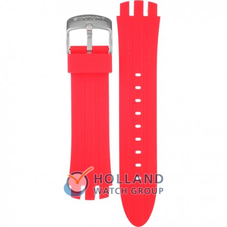 Swatch YTS714 Red Temptation Strap