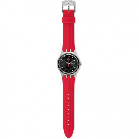 Swatch Red Temptation watch