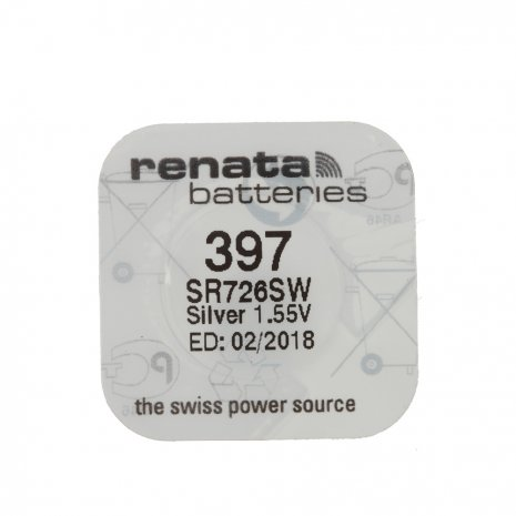 Swatch Renata Battery 397 Accessory