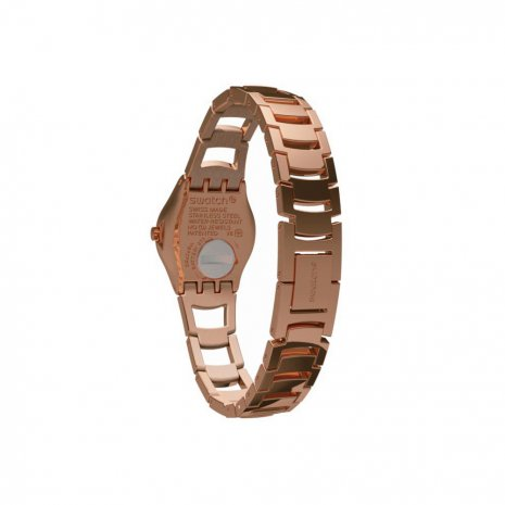 Rose Gold Irony Ladies Watch Fall Winter Collection Swatch