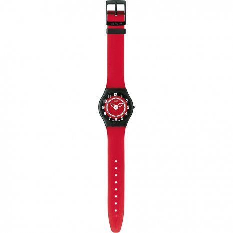 Swatch Rosso Corsa watch