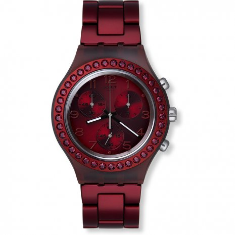 Swatch Ruby Brilliance watch