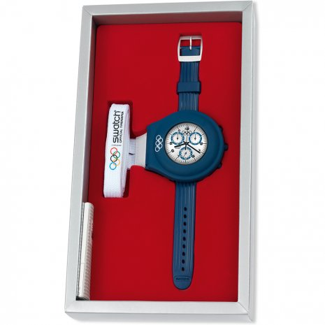 Swatch Run Time watch