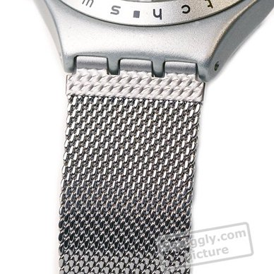 Swiss Made Aluminum Gents Watch Fall Winter Collection Swatch