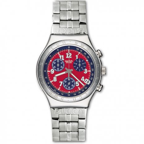 Swatch Secret Agent Red Flip Usa watch