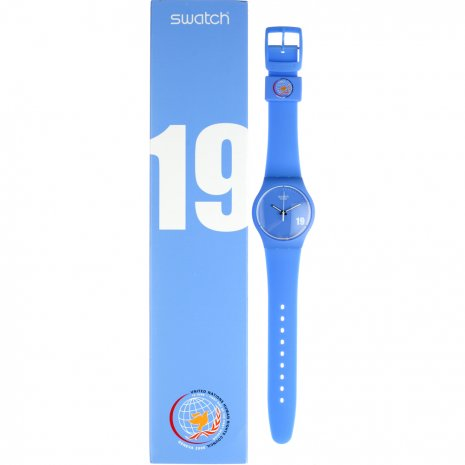 Swatch Shake The World watch