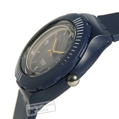 Dark Blue Resin Diving Watch Fall Winter Collection Swatch