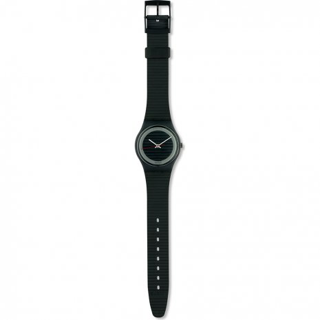 Swatch Silver Circle watch