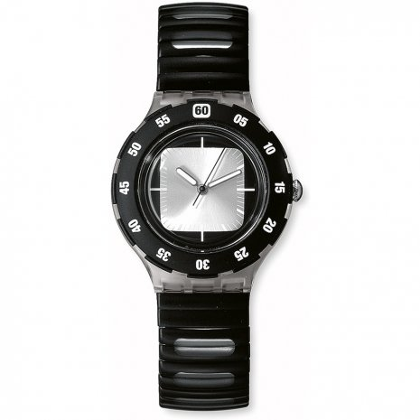 Swatch Silver Exit watch