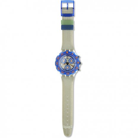 Swatch Silver Moon watch