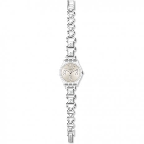 Swatch Silver Moves watch