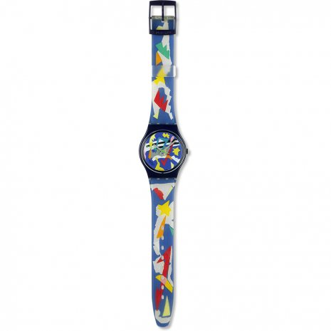 Swatch Silver Patch watch