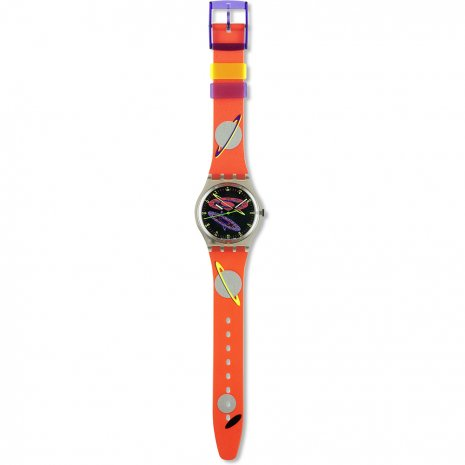 Swatch Silver Planet watch