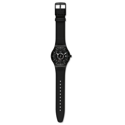 Swatch watch black