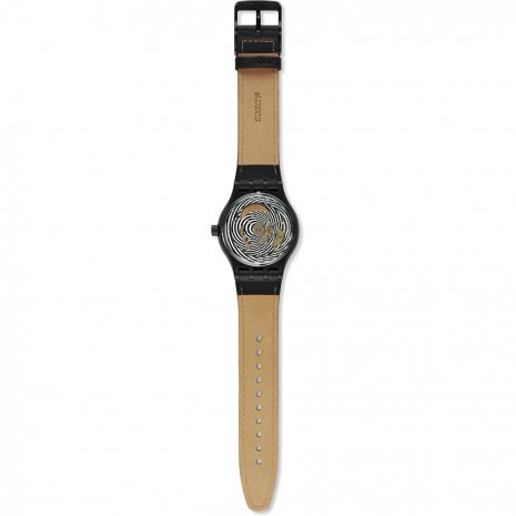 Plastic Automatic Watch with date Fall Winter Collection Swatch