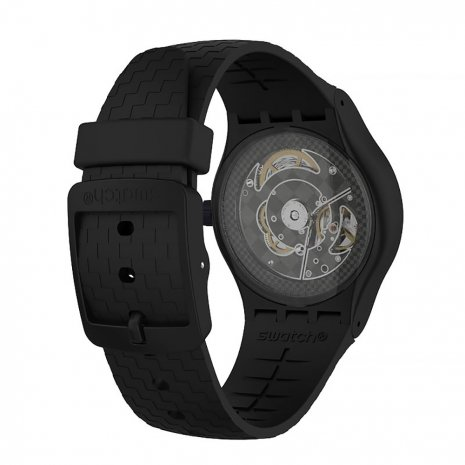 Resin Automatic Watch with date Fall Winter Collection Swatch