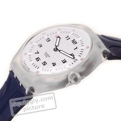 Swatch STAK100 watch - Snooze Me Up (alarm)