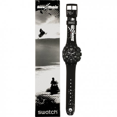 Swatch Snowmobile 2010 watch