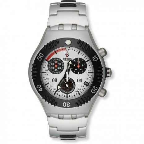 Swatch Spectre Rouge Flip watch