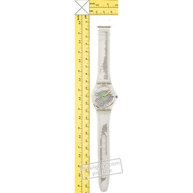 Swatch watch Transparent