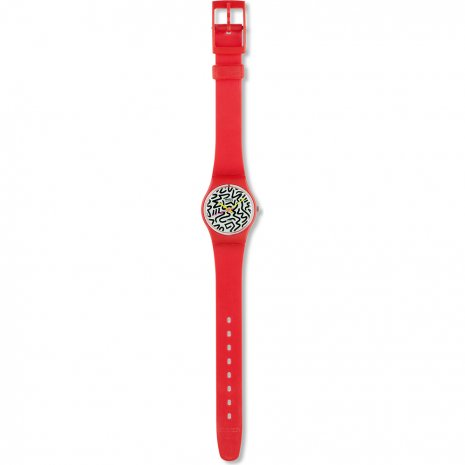 Swatch Squiggly watch