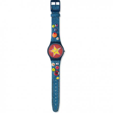 Swatch Stars & Pins watch