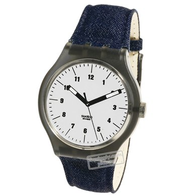 watch Fume Grey Quartz Swiss