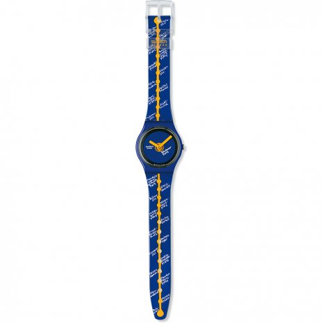 Swatch Straight Line watch